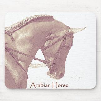 Cojín de ratón árabe del caballo tapetes de ratón