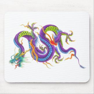 Cojín de ratón asiático oriental del tatuaje del d alfombrillas de raton