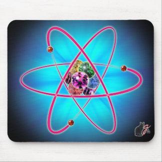 Cojín de ratón atómico de las joyas alfombrilla de ratón