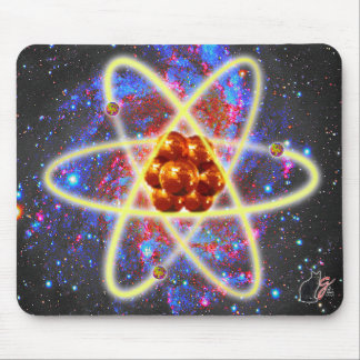 Cojín de ratón atómico de Spacey Alfombrillas De Ratón