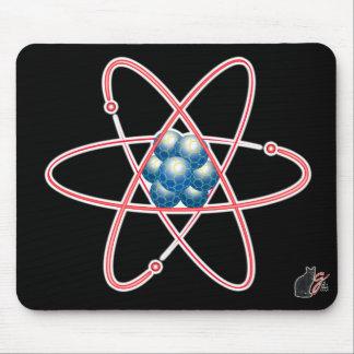 Cojín de ratón atómico irónico mousepad