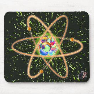 Cojín de ratón atómico radical alfombrilla de ratón