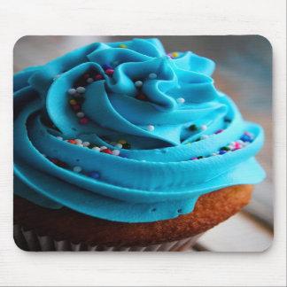 Cojín de ratón azul de la fotografía de la magdale alfombrillas de raton