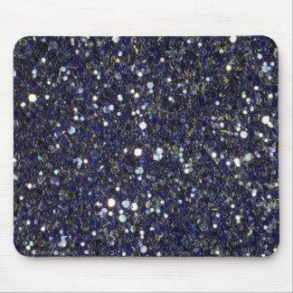 Cojín de ratón azul de la gota de Dazzeling Tapetes De Ratón