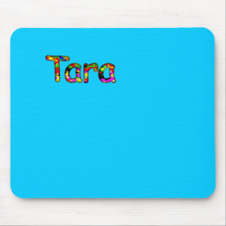 Cojín de ratón azul de Tara Tapete De Ratones