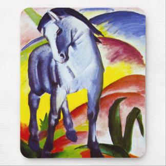 Cojín de ratón azul del caballo de Franz Marc Alfombrilla De Raton
