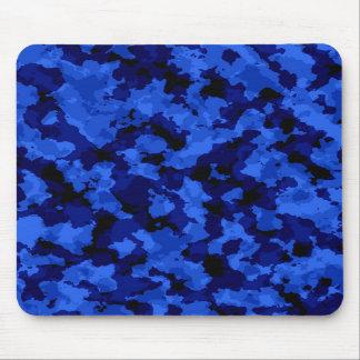 Cojín de ratón azul del camuflaje alfombrillas de raton