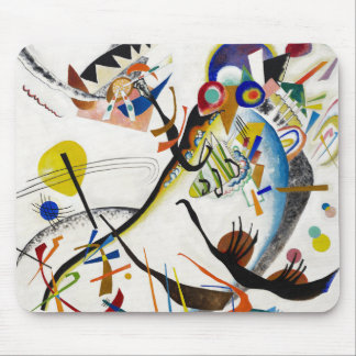 Cojín de ratón azul del segmento de Kandinsky Tapete De Raton