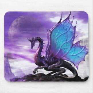 Cojín de ratón * azul se fue volando el dragón * mouse pad