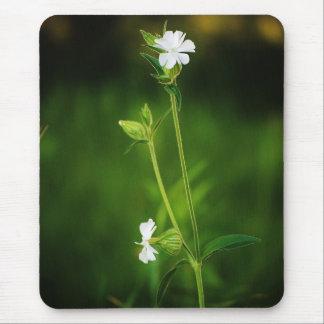 Cojín de ratón blanco del Wildflower Mouse Pad
