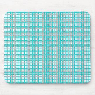 Cojín de ratón bonito del diseño de la tela escoce mouse pad