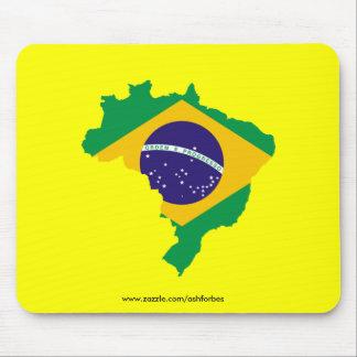 Cojín de ratón brasileño tapetes de ratones