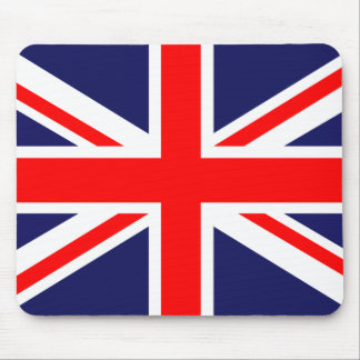 Cojín de ratón británico de Union Jack de la Mousepads