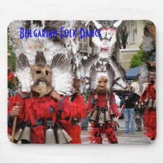 Cojín de ratón búlgaro de la danza popular alfombrillas de raton