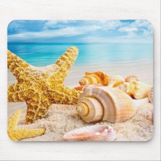 Cojín de ratón/cáscaras del mar alfombrillas de ratón