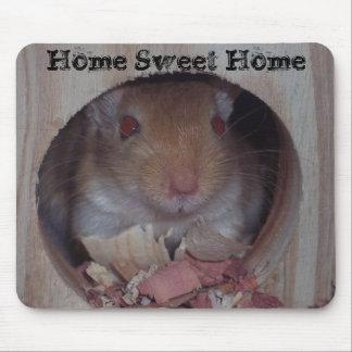 Cojín de ratón casero dulce casero tapetes de ratones