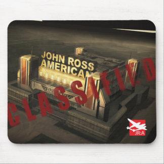 Cojín de ratón clasificado 'Juan Ross: American Tapete De Ratones