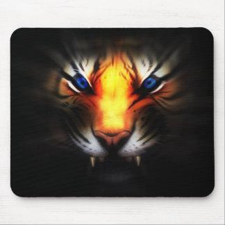Cojín de ratón: Cojín de ratón del tigre de la fan Tapetes De Raton