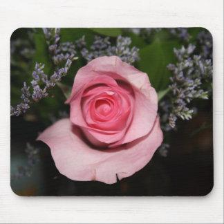 Cojín de ratón color de rosa rosado alfombrillas de raton