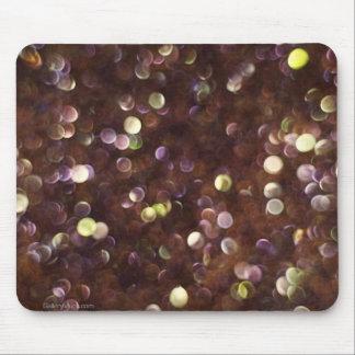Cojín de ratón coloreado de las cuentas de cristal alfombrilla de ratones
