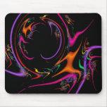 Cojín de ratón colorido de la danza del confeti alfombrilla de raton