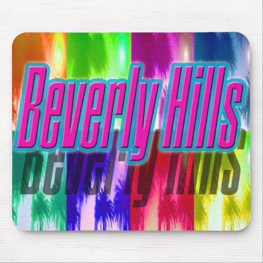 """Cojín de ratón colorido de las palmas de """"Beverly  Alfombrilla De Ratones"""