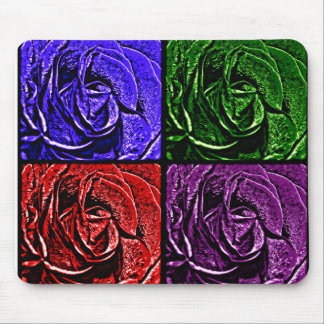 Cojín de ratón colorido de los rosas tapete de raton