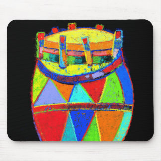 Cojín de ratón colorido del Conga Mouse Pads