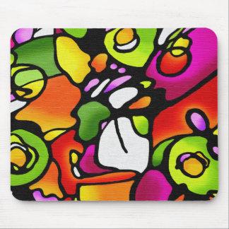 Cojín de ratón colorido del oscilación de humor alfombrillas de ratón