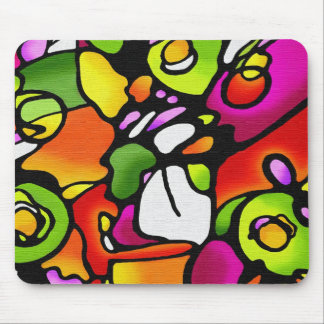 Cojín de ratón colorido del oscilación de humor alfombrilla de ratones