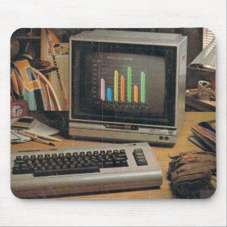 Cojín de ratón computacional del vintage alfombrillas de raton