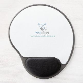 Cojín de ratón con el logotipo alfombrilla gel