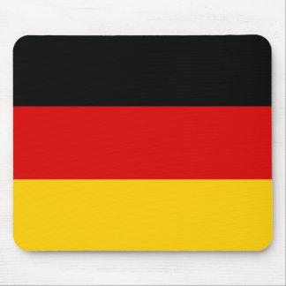 Cojín de ratón con la bandera de Alemania Tapete De Ratón