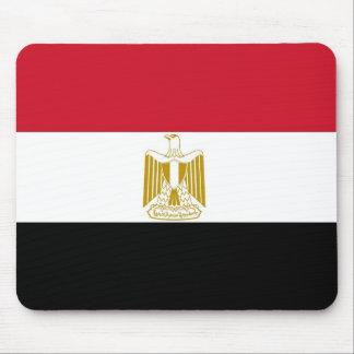 Cojín de ratón con la bandera de Egipto Alfombrillas De Ratón