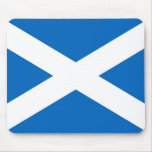 Cojín de ratón con la bandera de Escocia Tapete De Ratón
