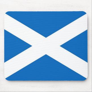 Cojín de ratón con la bandera de Escocia Tapetes De Ratones