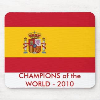 Cojín de ratón con la bandera de España Alfombrilla De Ratones