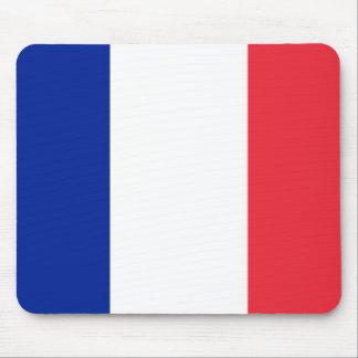 Cojín de ratón con la bandera de Francia Alfombrillas De Raton
