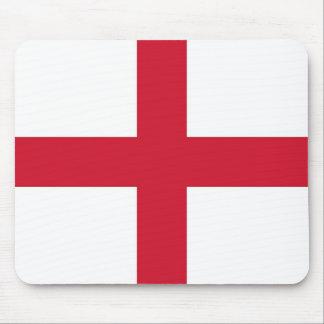 Cojín de ratón con la bandera de Inglaterra Mousepads