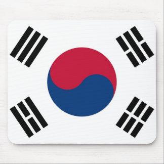Cojín de ratón con la bandera de la Corea del Sur Alfombrilla De Raton