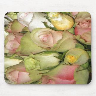 Cojín de ratón con los rosas alfombrillas de ratones