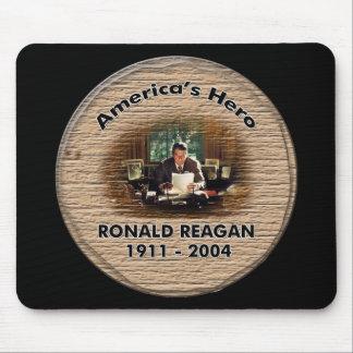 Cojín de ratón conmemorativo de Ronald Reagan Tapete De Ratones
