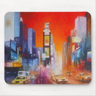 Cojín de ratón de América del Times Square Tapete De Ratones
