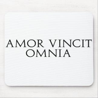 Cojín de ratón de Amor Vincit Omnia Tapetes De Ratones