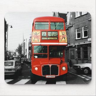 Cojín de ratón de autobús de Londres Alfombrilla De Ratón