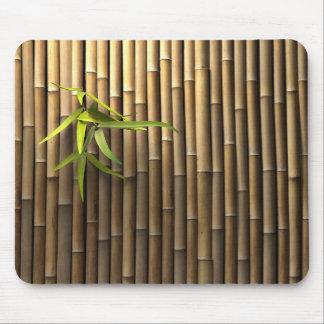 Cojín de ratón de bambú de la pared alfombrillas de ratones