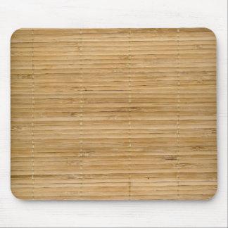 Cojín de ratón de bambú alfombrillas de ratones