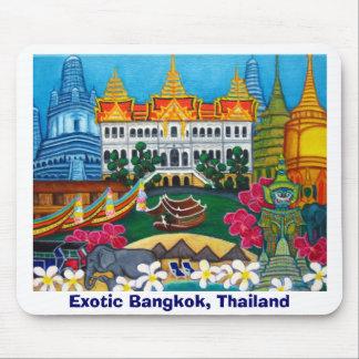 Cojín de ratón de Bangkok exótica, Tailandia Tapetes De Raton