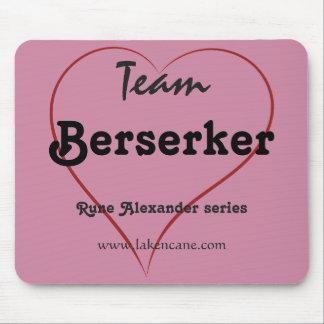 Cojín de ratón de Berserker del equipo Tapete De Ratón