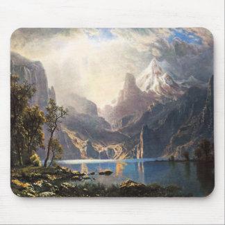Cojín de ratón de Bierstadt el lago Tahoe Alfombrilla De Ratón
